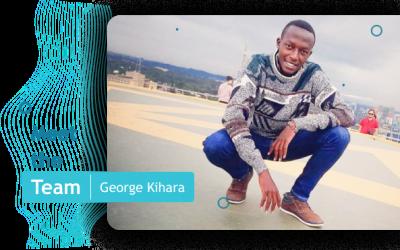 George, A Software Developer at mTek-Services